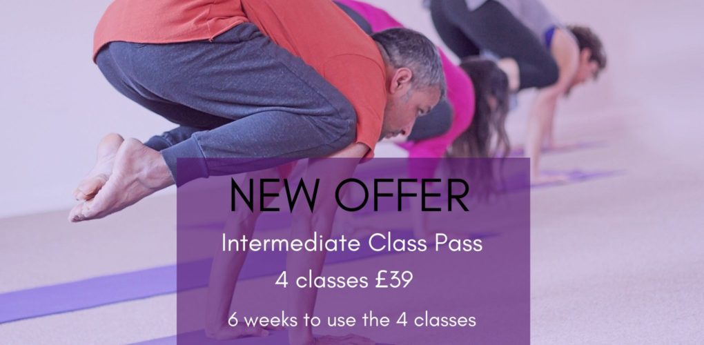 Intermediate Yoga Class pass