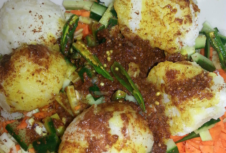 Nepali achar recipe aloo