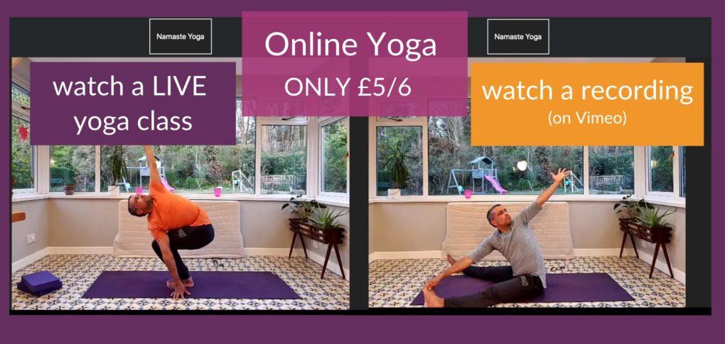 namaste yoga online