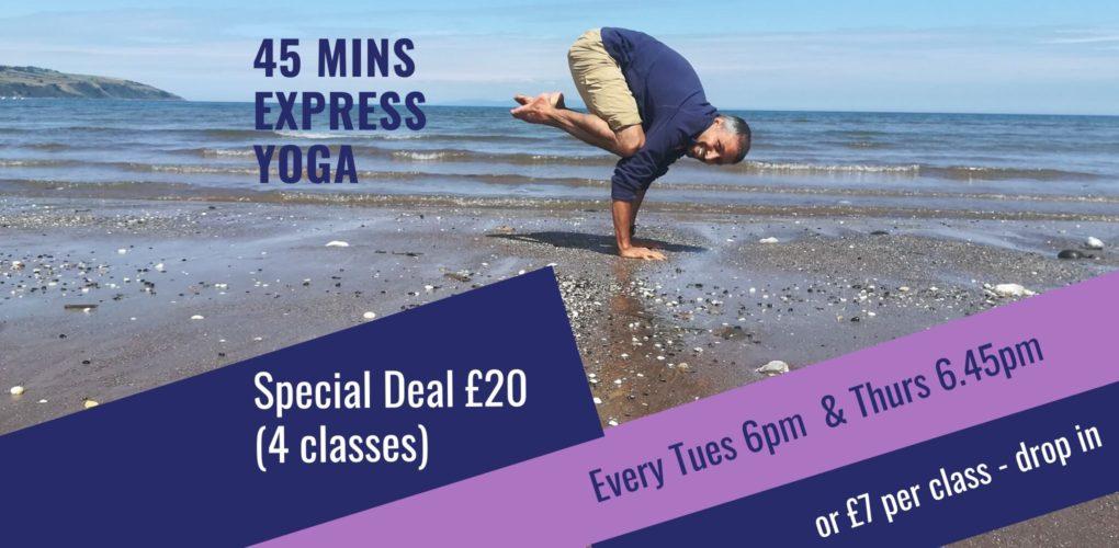 express beginners yoga