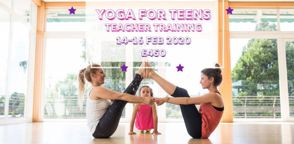 yoga for teenagers teacher training