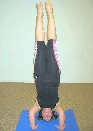 Headstand- Namaste Yoga Belfast