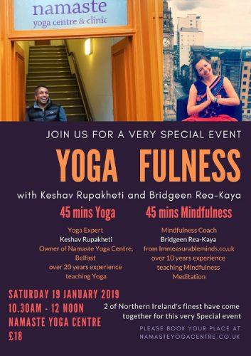 yoga mindfulness belfast